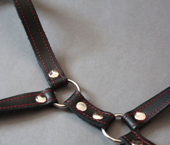 Leather Breast Harness