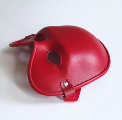 Intriguing Leather Fetish Mask