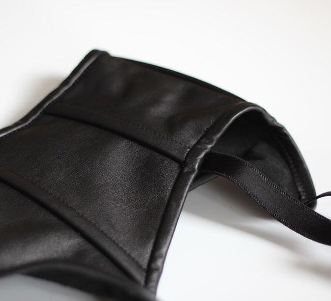 Striking Leather Suspender Belt
